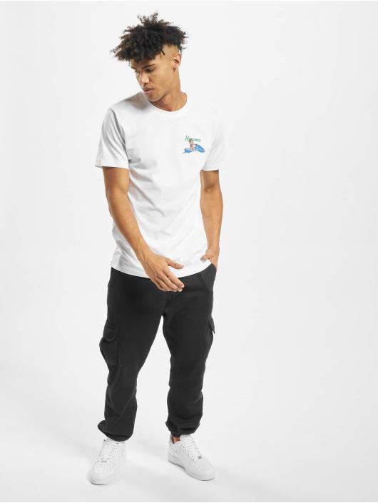 Mister Tee T-shirts Bad Gyal hvid