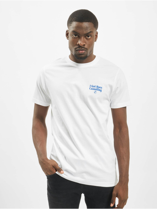 Mister Tee T-shirts Mobamba hvid