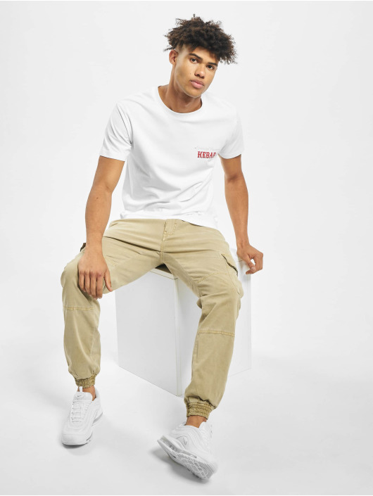 Mister Tee T-shirts Create Your Kebab hvid