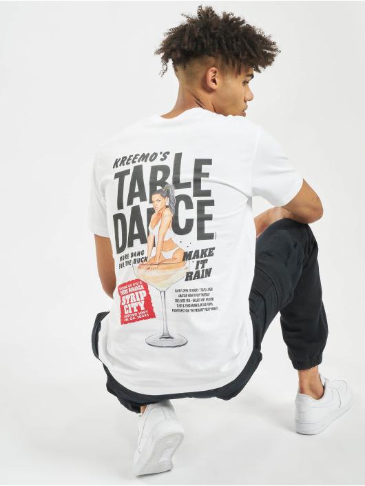 Mister Tee T-shirts Tabledance hvid