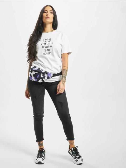 Mister Tee T-shirts Blink hvid