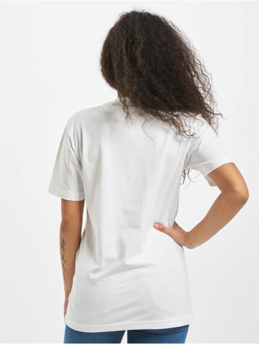 Mister Tee T-shirts Ladies One Line hvid