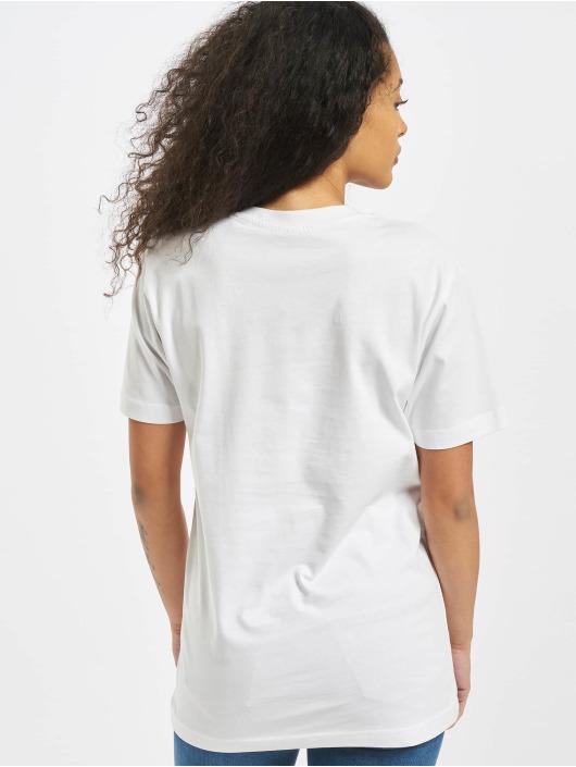 Mister Tee T-shirts Ladies Memes hvid