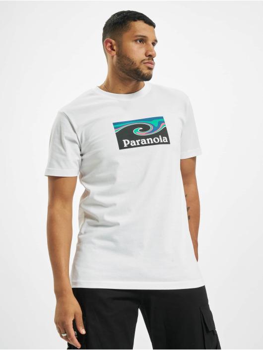 Mister Tee T-shirts Paranoia hvid