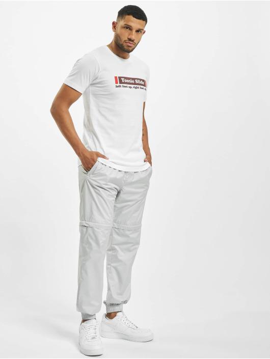 Mister Tee T-shirts Toosie Slide hvid