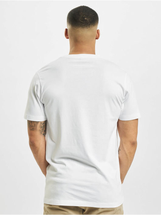 Mister Tee T-shirts Pizza Moon Landing hvid
