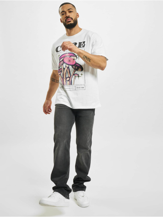 Mister Tee T-shirts Cure Oversize hvid