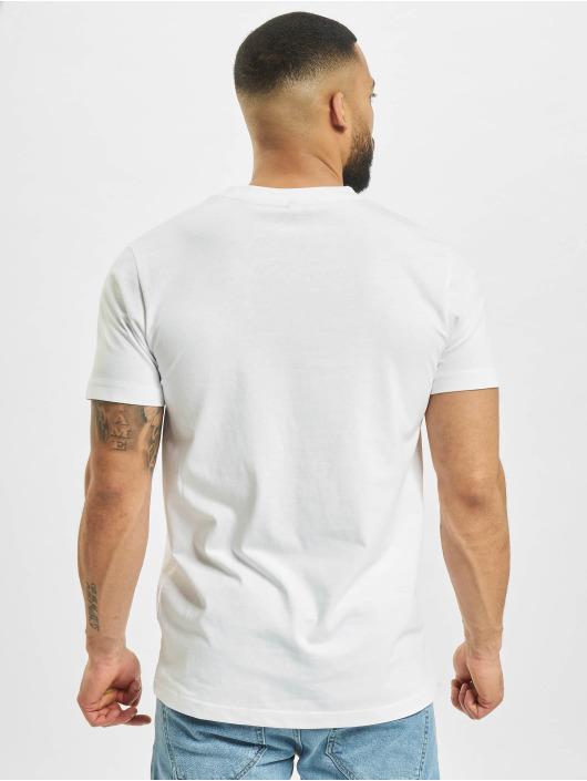 Mister Tee T-shirts A Burger hvid