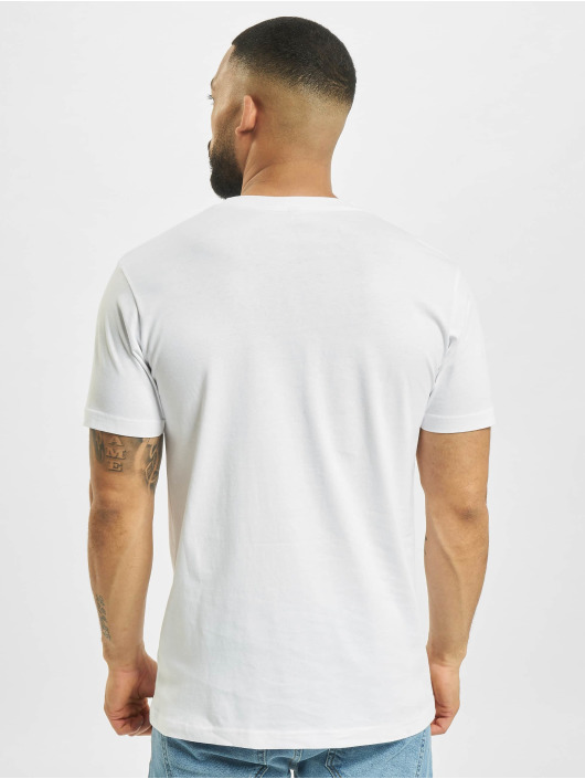 Mister Tee T-shirts Weekend Wolf hvid