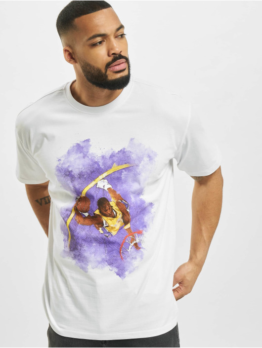 Mister Tee T-shirts Basketball Clouds 2.0 hvid