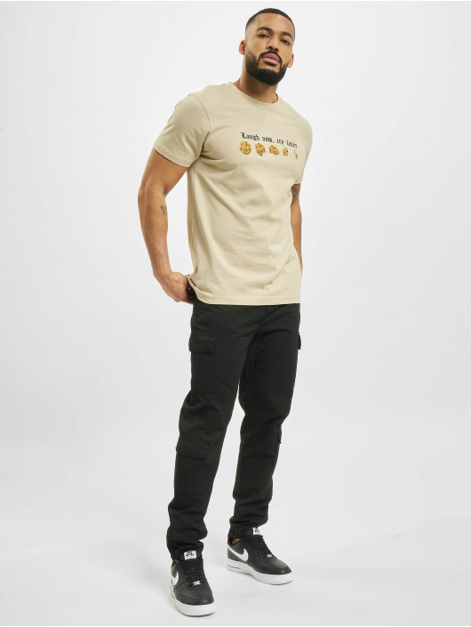 Mister Tee T-shirts Laugh Now khaki