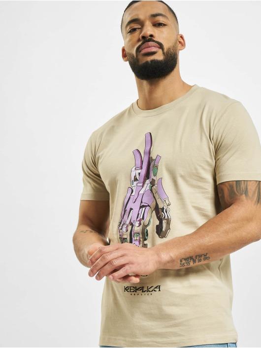 Mister Tee T-shirts Replika khaki