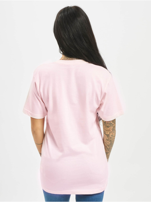 Mister Tee T-shirts Troublemaker pink