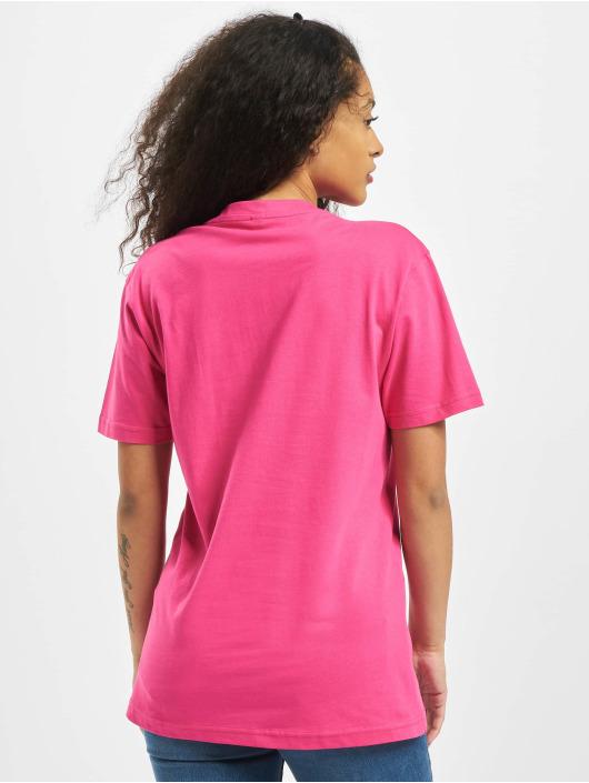 Mister Tee T-shirts Ladies Geometric Retro pink