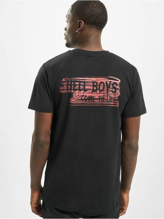 Mister Tee T-shirts Hell Boys sort
