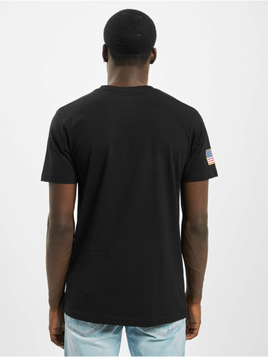 Mister Tee T-shirts Nasa Retro Insignia Logo sort