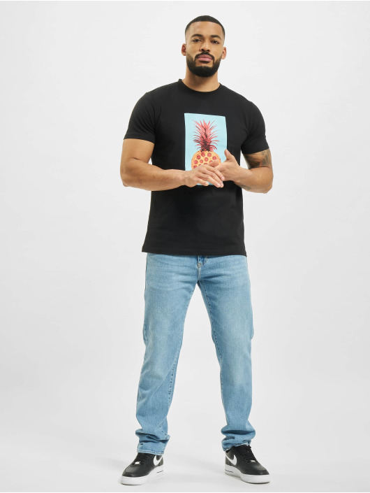 Mister Tee T-shirts Pizza Pineapple sort