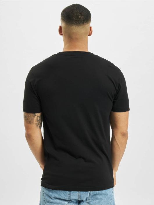 Mister Tee T-shirts Half Face sort