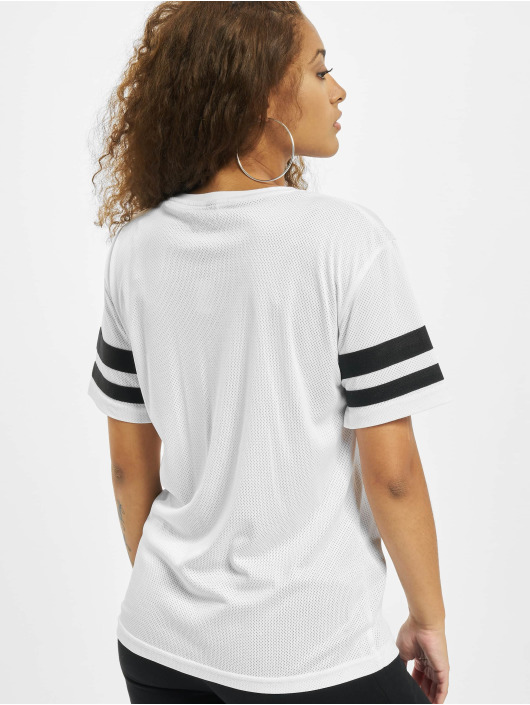Mister Tee T-Shirty 2Pac Stripes bialy