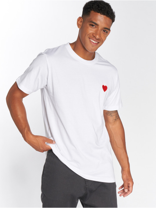 Mister Tee T-Shirty Heart bialy