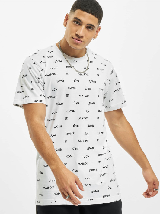 Mister Tee T-Shirty Home bialy