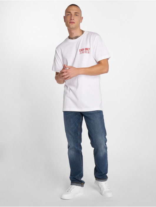 Mister Tee T-Shirty Cash Only bialy