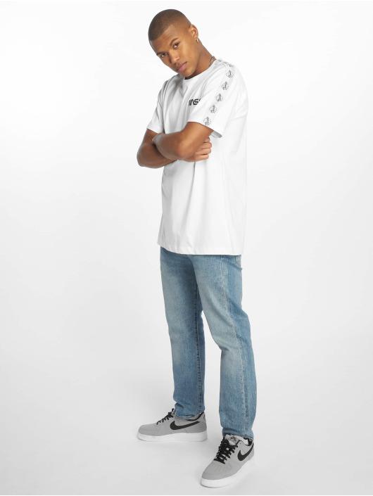 Mister Tee T-Shirty Nasa Rocket Tape bialy