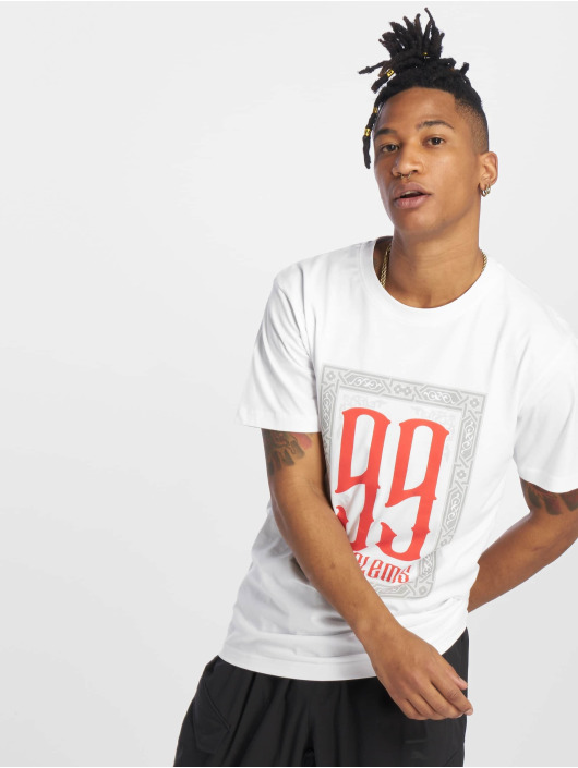 Mister Tee T-Shirty 99 Problems bialy