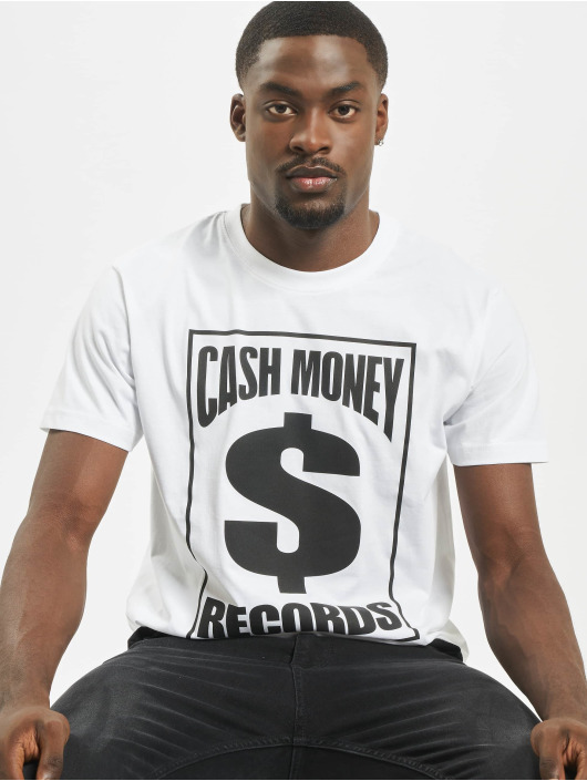 Mister Tee T-Shirty Cash Money Records bialy