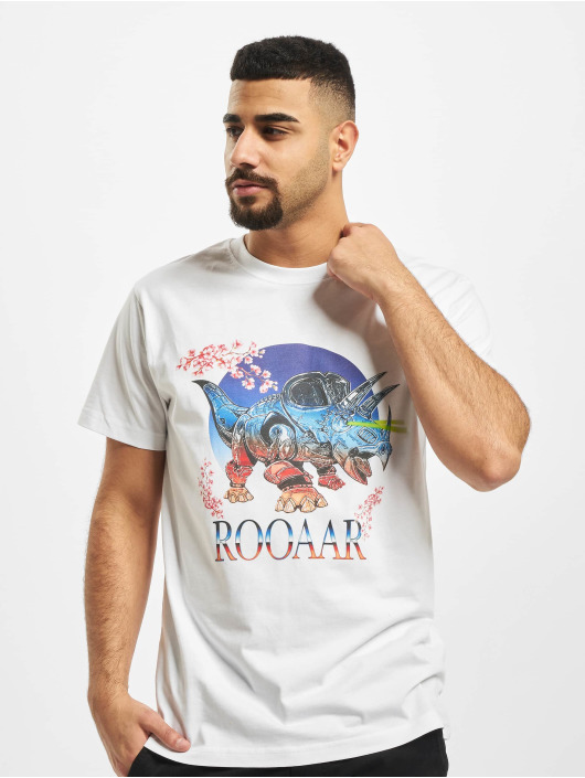 Mister Tee T-Shirty Roar bialy