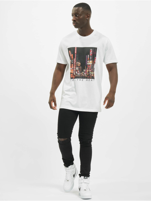 Mister Tee T-Shirty Feel The Heat bialy