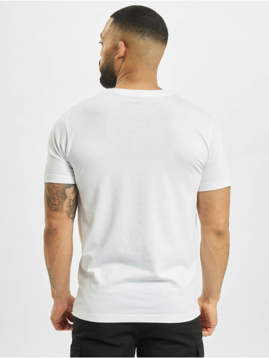 Mister Tee T-Shirty Mic Drop bialy