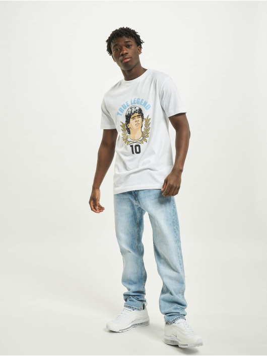 Mister Tee T-Shirty True Legends Number 10 bialy