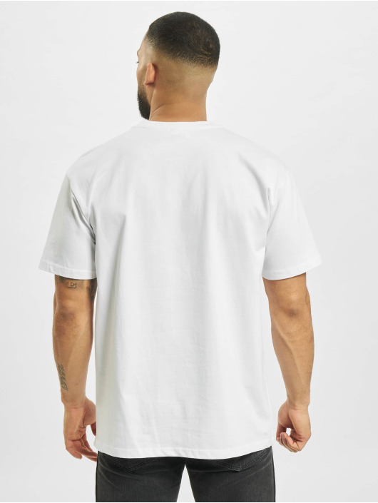 Mister Tee T-Shirty Basketball Clouds 2.0 bialy