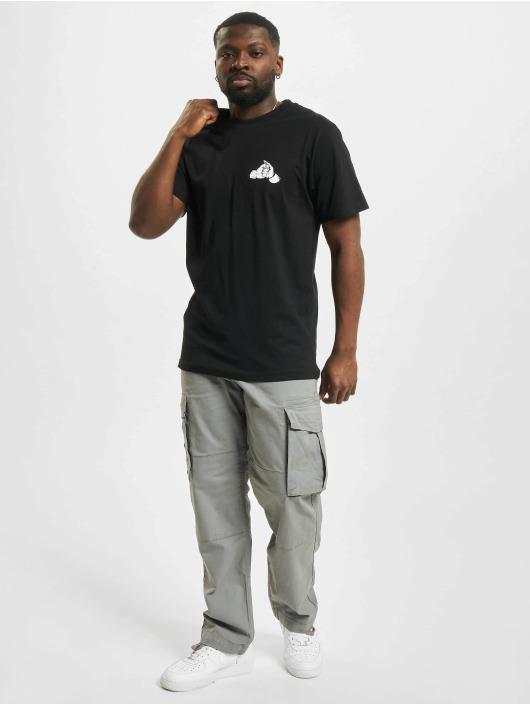 Mister Tee T-Shirty Fist czarny