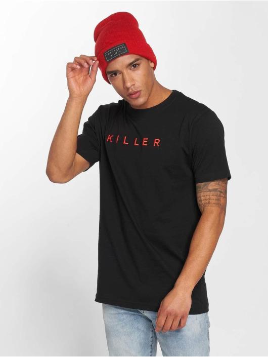 Mister Tee T-Shirty Killer czarny