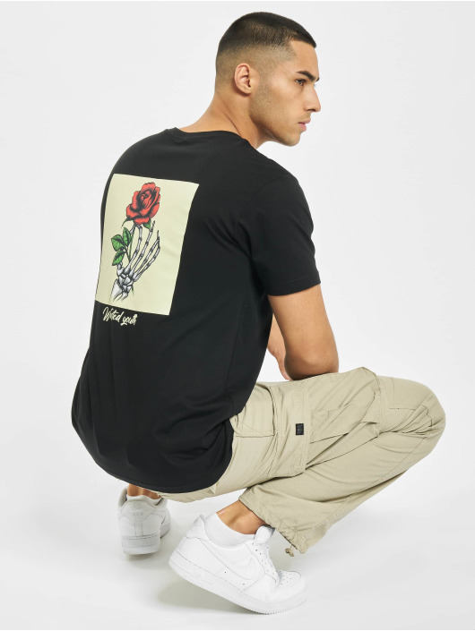 Mister Tee T-Shirty Wasted Youth czarny