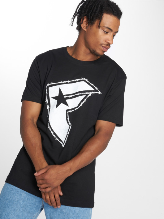 Mister Tee T-Shirty Barbed czarny