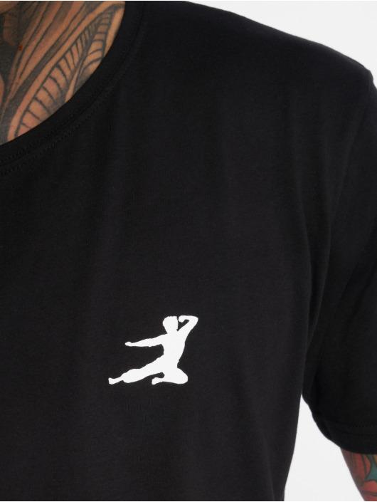 Mister Tee T-Shirty Bruce Lee czarny