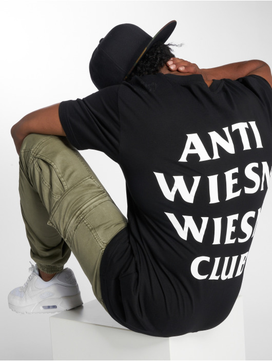 Mister Tee T-Shirty Wiesn Club czarny