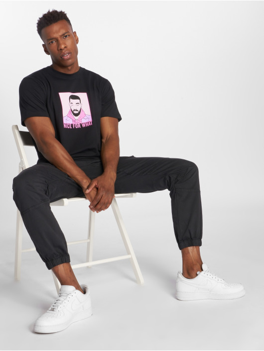 Mister Tee T-Shirty Nice For What czarny