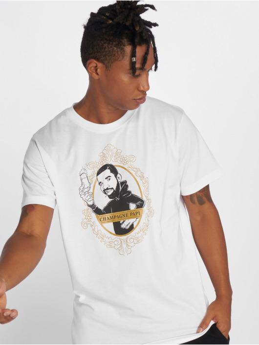 Mister Tee T-Shirty Champagne Papi czarny