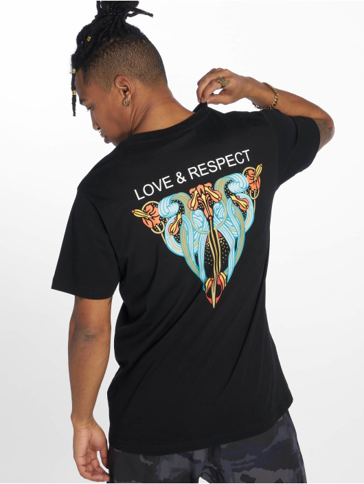 Mister Tee T-Shirty Love & Respect czarny