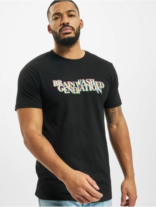 Mister Tee T-Shirty Brainwashed Generation czarny