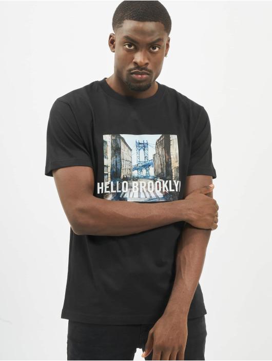 Mister Tee T-Shirty Hello Brooklyn czarny