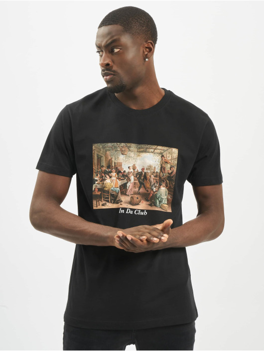 Mister Tee T-Shirty Club czarny