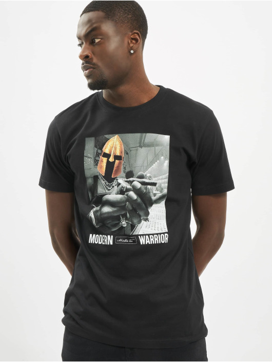 Mister Tee T-Shirty Modern Warrior czarny