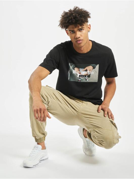 Mister Tee T-Shirty Big Pimpin czarny