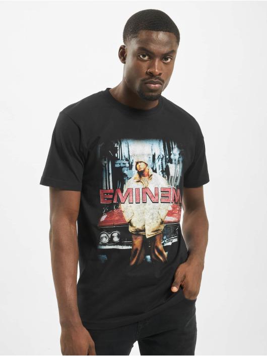 Mister Tee T-Shirty Eminem Retro Car czarny