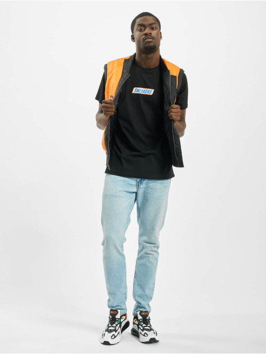 Mister Tee T-Shirty Sneakers czarny